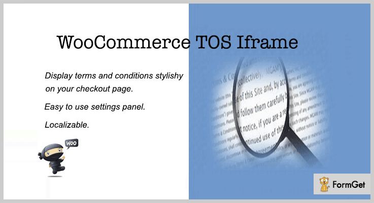 WooCommerce TOS Iframe WordPress Terms And Conditions Plugin