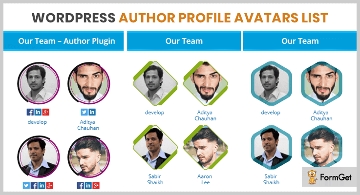 WordPress Author Profile Author Profile WordPress Plugin
