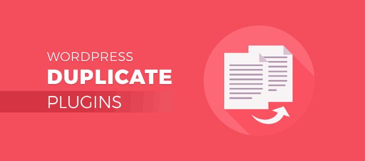 4 WordPress Duplicate Plugins 2018 (Free and Paid)
