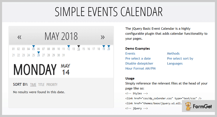 Wordpress Events Calendar Event Calendar WordPress Plugin