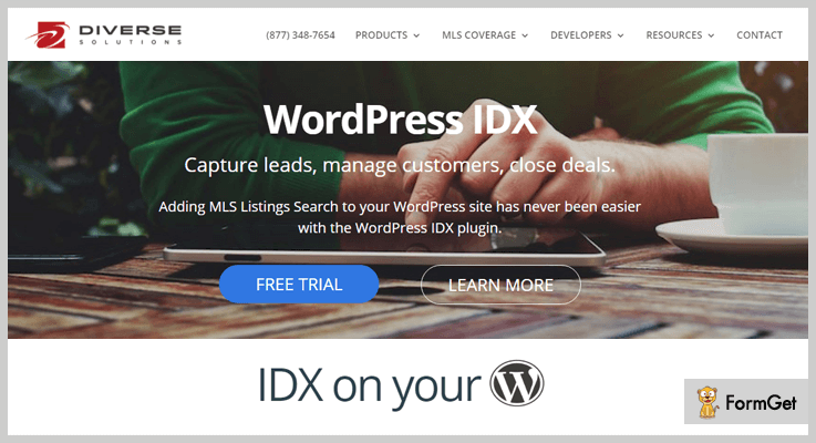 WordPress IDX MLS WordPress Plugin
