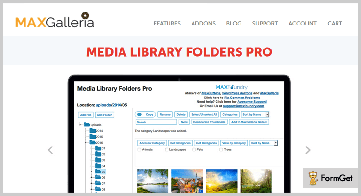Media Library Folders WordPress Media Library Plugin