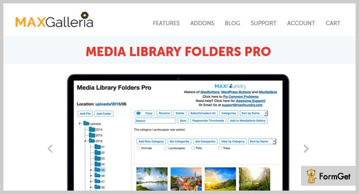 Media Library FoldersWordPress Media Library Plugin
