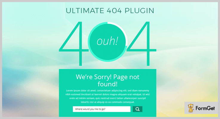 WordPress Ultimate 404 Plugin 404 Redirect WordPress Plugin