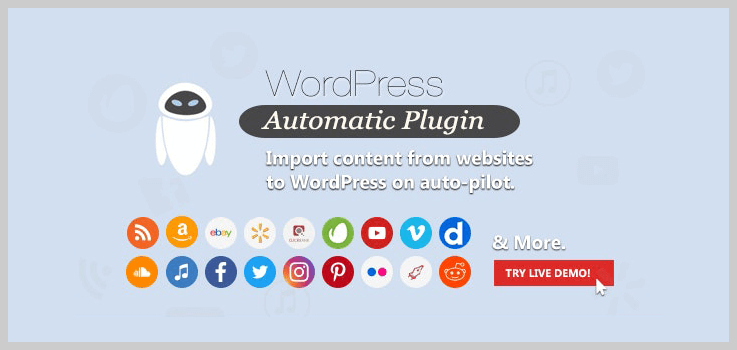 WordPress Automatic Plugin - Auto Post WordPress Plugins