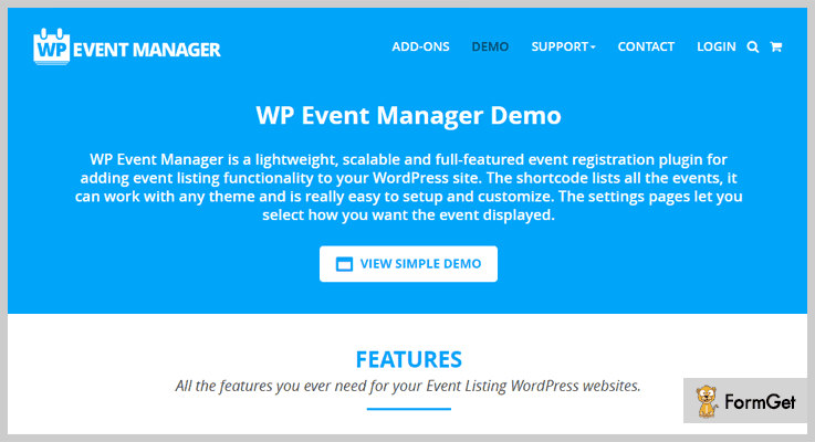 WP Event Manager Event Manager WordPress Plugin