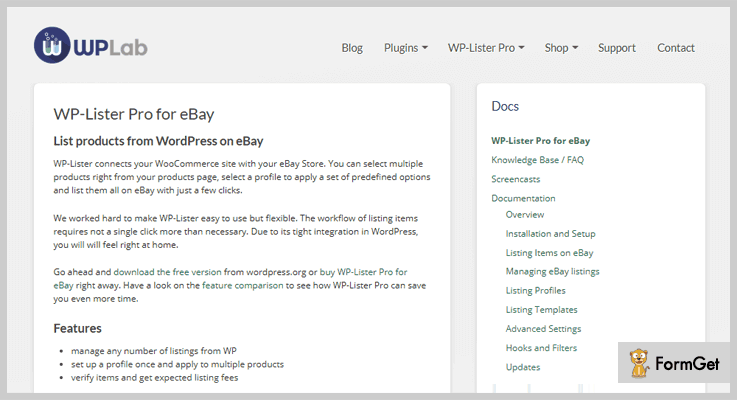 WP-Lister Pro for eBay - WordPress eBay Plugins