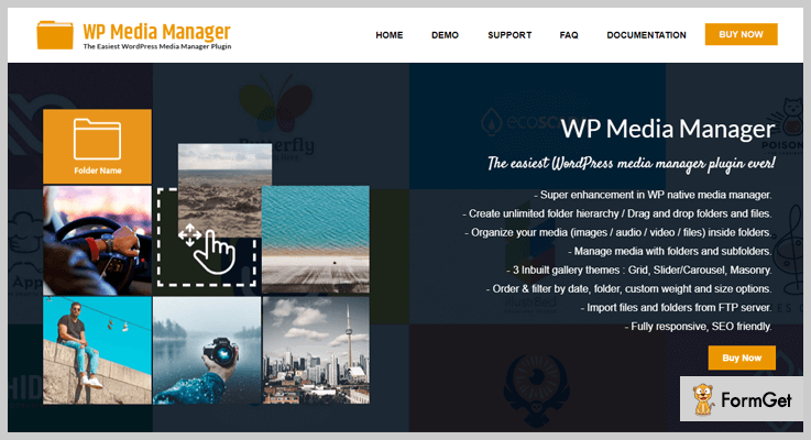 WP Media Manager WordPress Media Library Plugin