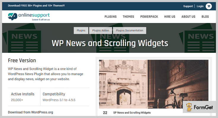 WP News Scroller Widgets News WordPress Plugins