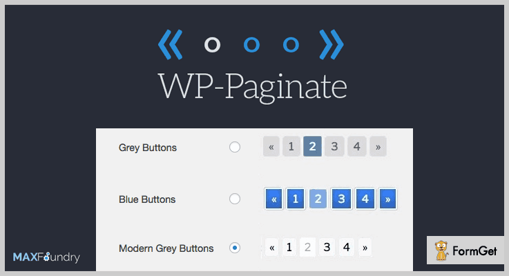 WP Paginate Pagination WordPress Plugin