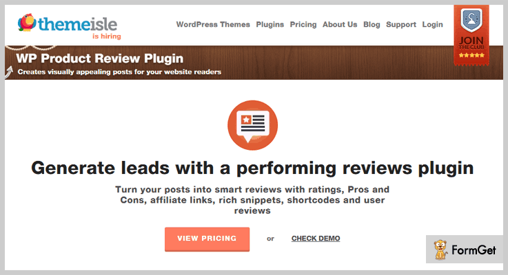WP Product Review Product Review WordPress Plugin