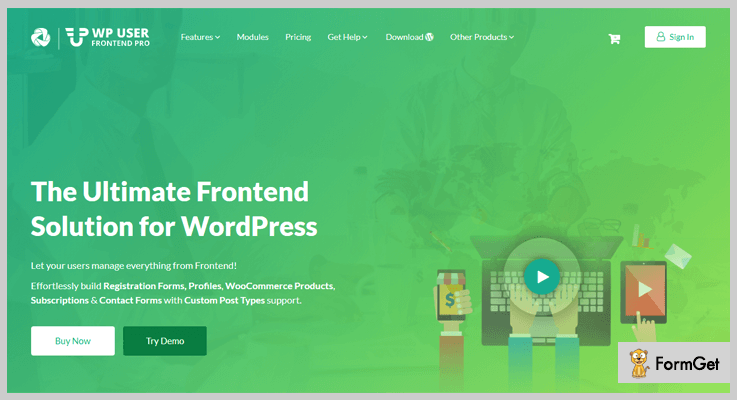 WP User Frontend Pro Guest Blogger WordPress Plugin