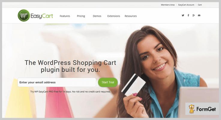 WP EasyCart Shopping Cart WordPress Plugin