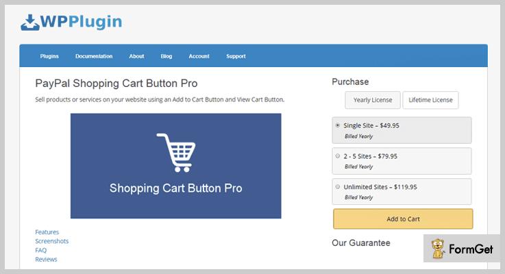 WP Plugin Shopping Cart WordPress Plugin