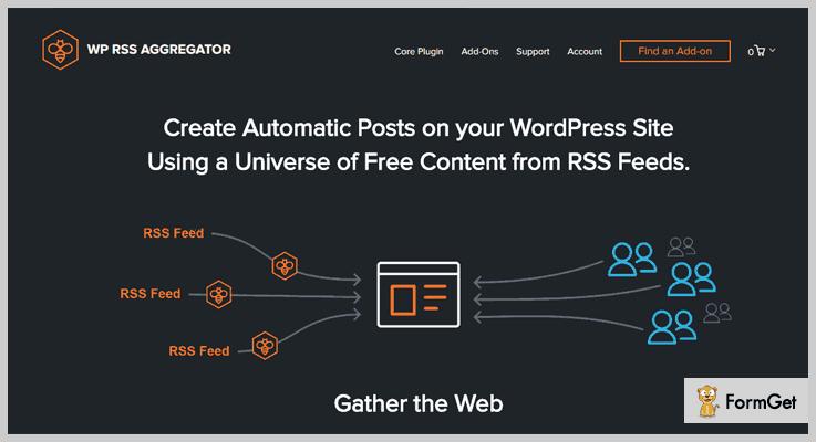 WP RSS Aggregator WordPress Aggregator Plugins