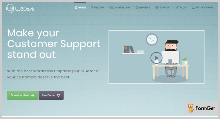 Wsdesk WordPress Help Desk Plugins