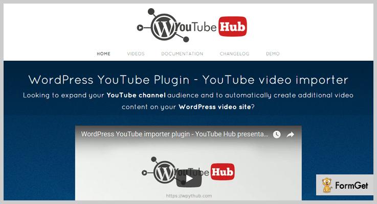 YouTube WordPress Plugin WordPress Video Post Plugin
