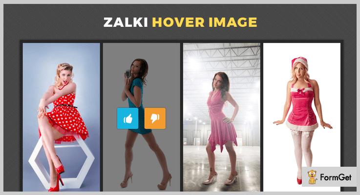 Zalki jQuery Image Hover Effect Plugin