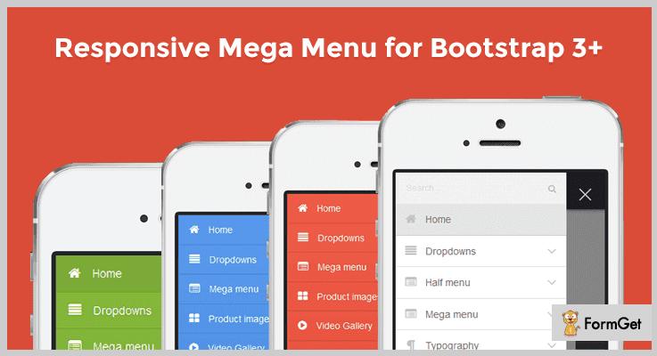 Web Slide Mobile Menu jQuery Plugin