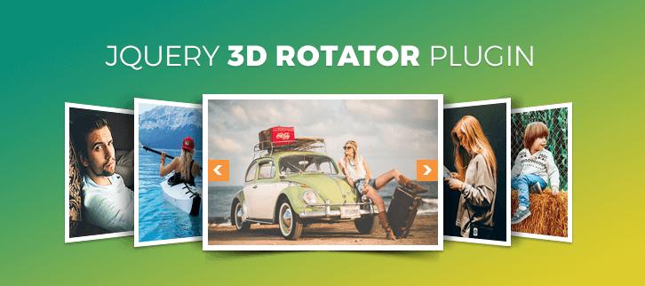 jQuery 3D Rotator Plugins