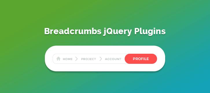 Breadcrumbs jQuery Plugins