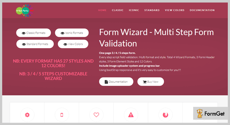 Form Wizard jQuery Form Wizard Plugins