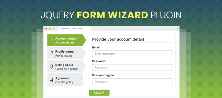 jQuery Form Wizard Plugins