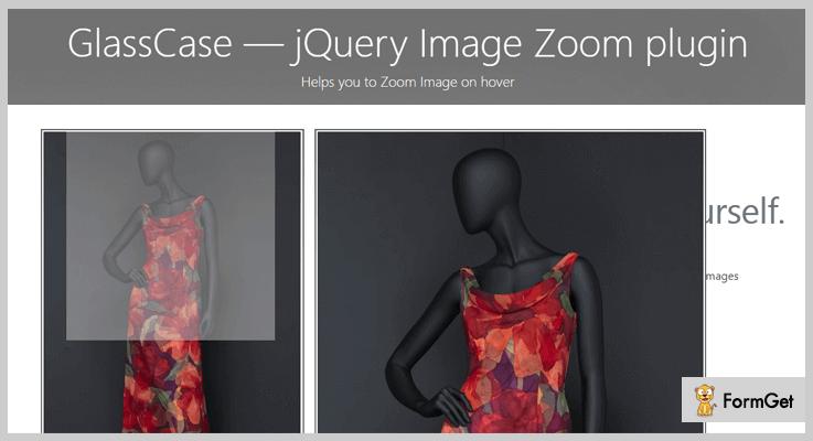 GlassCase jQuery Magnifier Plugin