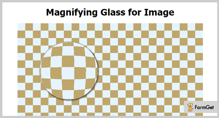 Magnifying Glass for Image jQuery Magnifier Plugin