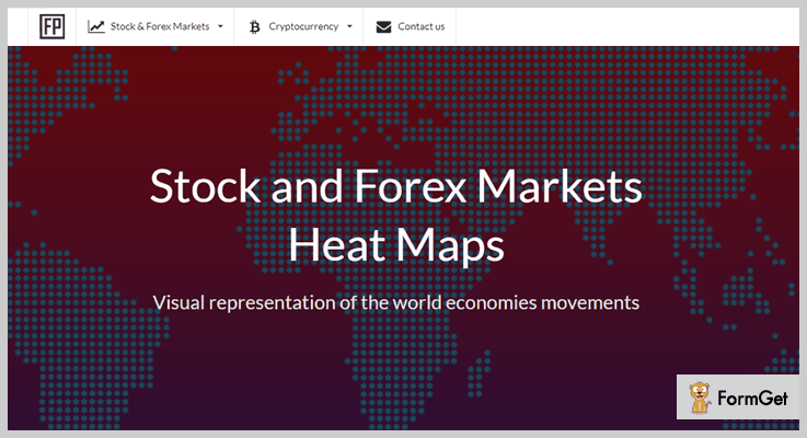 Stock and Forex Markets jQuery Heatmap Plugin