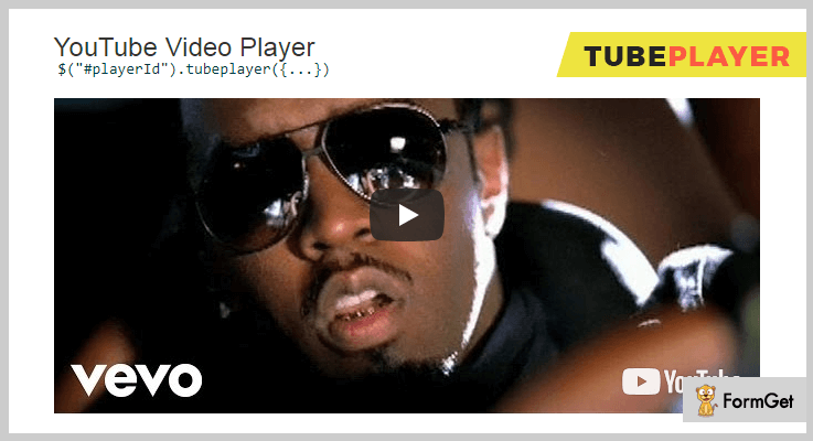 TubePlayer Youtube jQuery Plugins