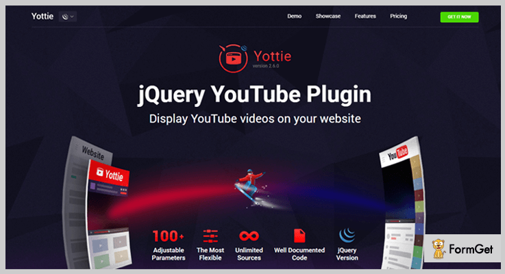 YouTube Gallery Youtube jQuery Plugins
