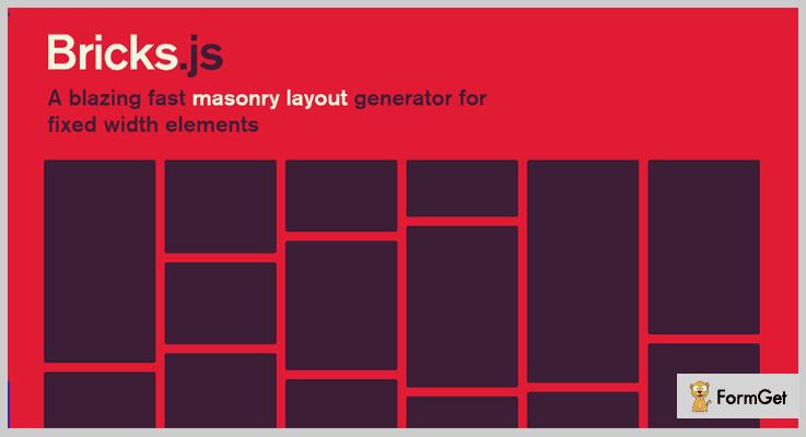 Bricks.js jQuery Layout Plugins