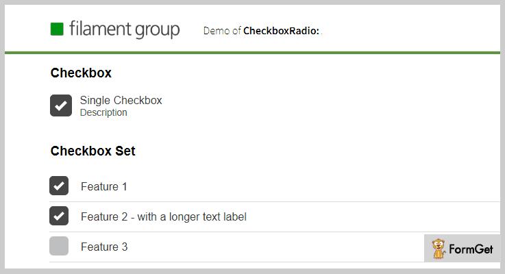 Checkboxradio jQuery Checkbox Plugins