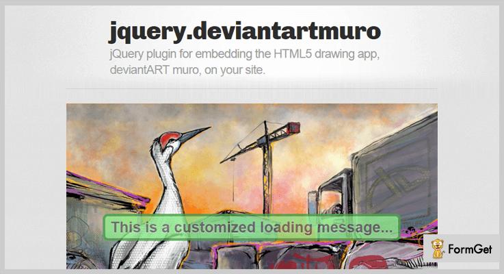 deviantART muro jQuery Drawing Plugin