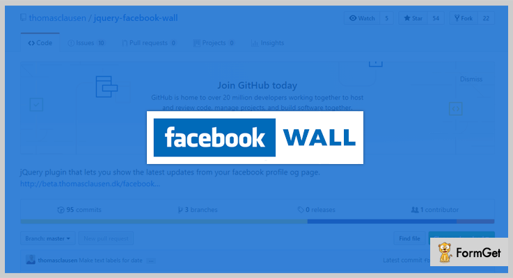 jquery Facebook Wall jQuery Facebook Plugins