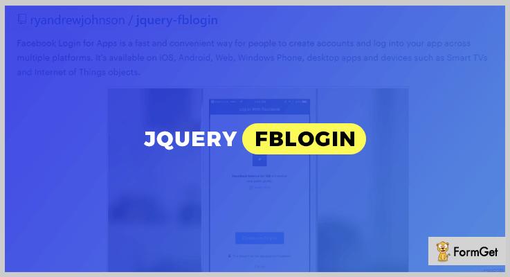 Fblogin Login jQuery Plugin