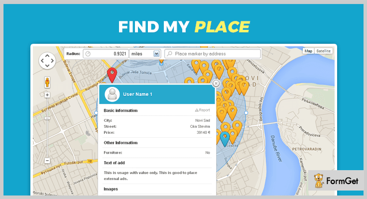 Find My Place jQuery Image Map Plugins