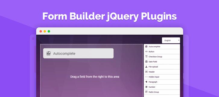 Form Builder jQuery Plugins