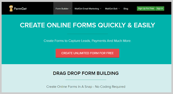 Formget Ultimate Form Automation Software