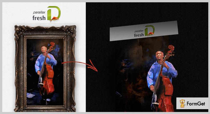 freshD jQuery Parallax Plugin