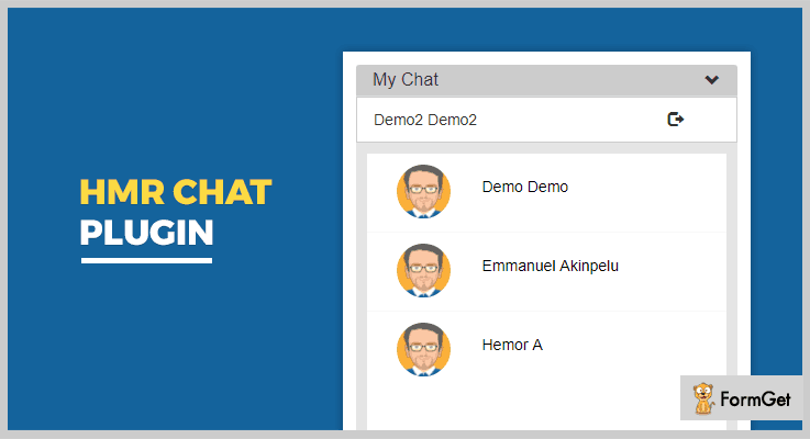HMR Chat jQuery Chat Plugin
