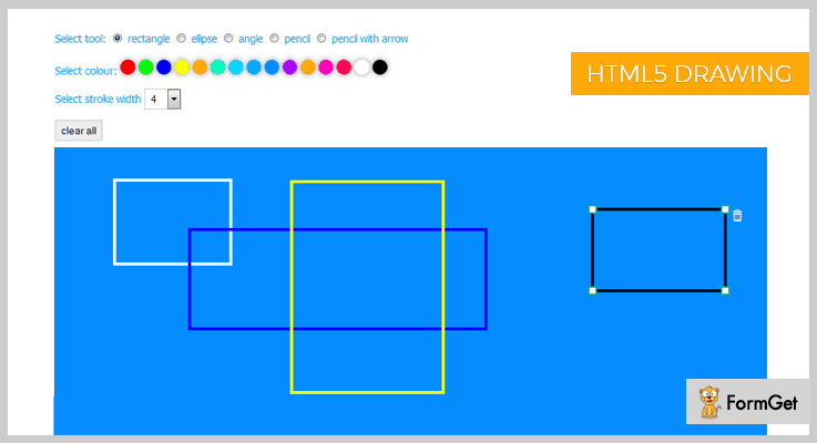 HTML5 Drawing Tool jQuery Drawing Plugin