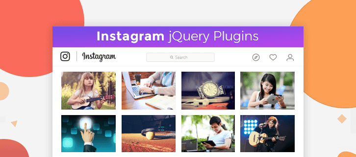 5+ Instagram jQuery Plugins (Free and Paid) | FormGet