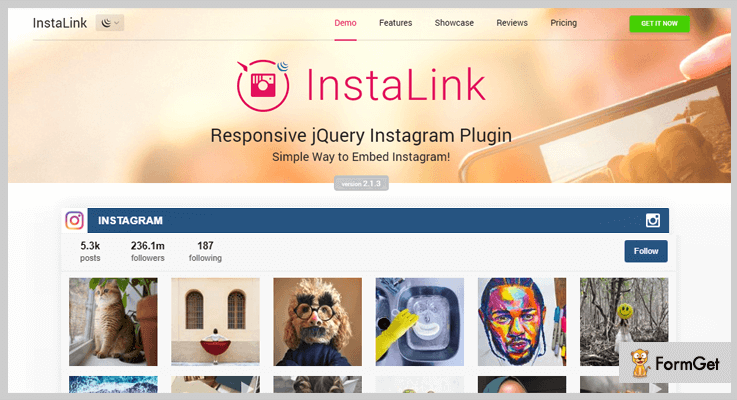 Instagram Plugin jQuery Plugin
