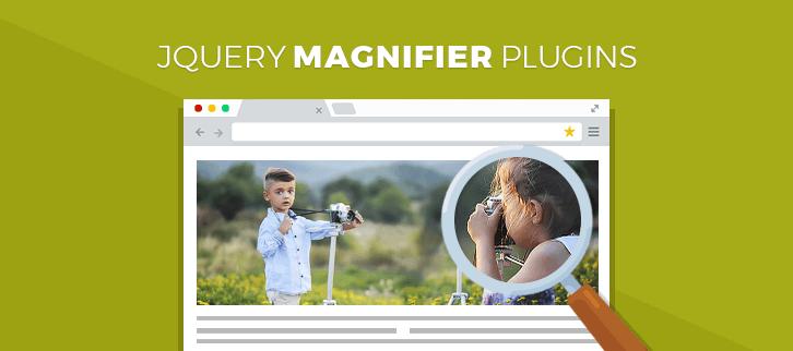 jQuery Magnifier Plugins