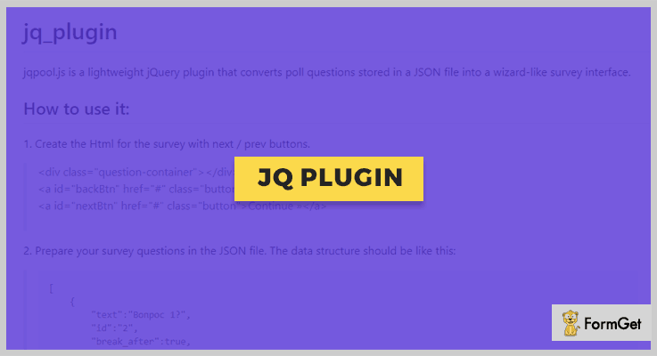 jq_plugin Survey jQuery Plugins