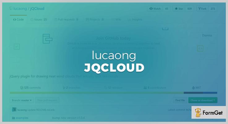 jqCloud jQuery Drawing Plugin