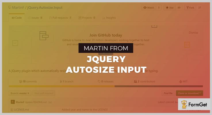 jQuery Autosize Input jQuery Typing Plugins