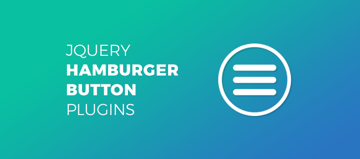 jQuery Hamburger Button Plugins